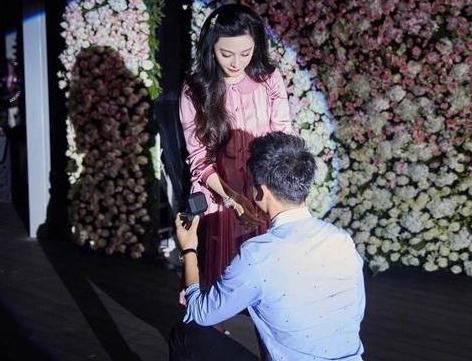 李晨求婚范冰冰成功啦!